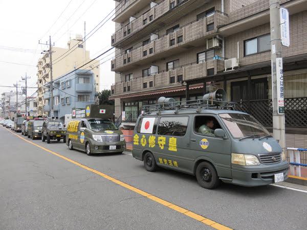 28年3月10日世田谷区待機児童問題啓蒙活動、朝鮮総連抗議活動02