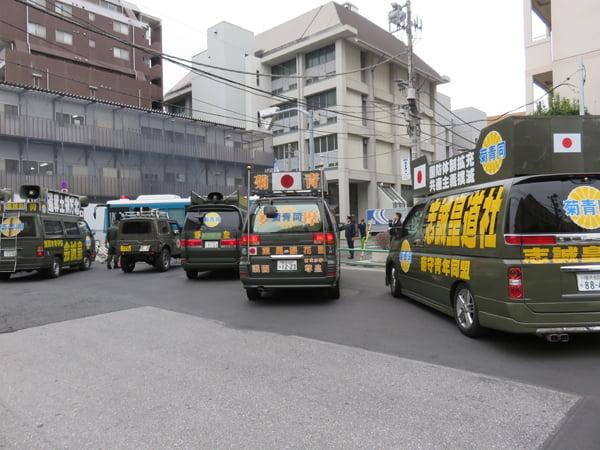 28年3月10日世田谷区待機児童問題啓蒙活動、朝鮮総連抗議活動03