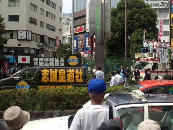 28年6月12日選挙問題、日本共産党演説会阻止活動02